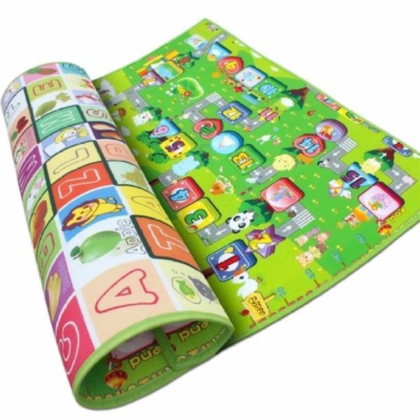 Thảm xốp Maboshi 2 mặt cho bé 1.6m x 2.0m x 0.5cm - vt28