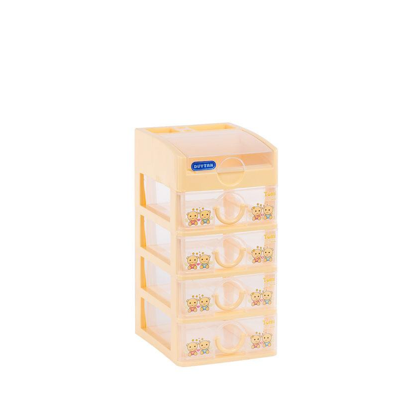Tủ nhựa Duy Tân chất lượng cao TOMI Mini 5 tầng ( 15.5 x 19 x 32 cm )
