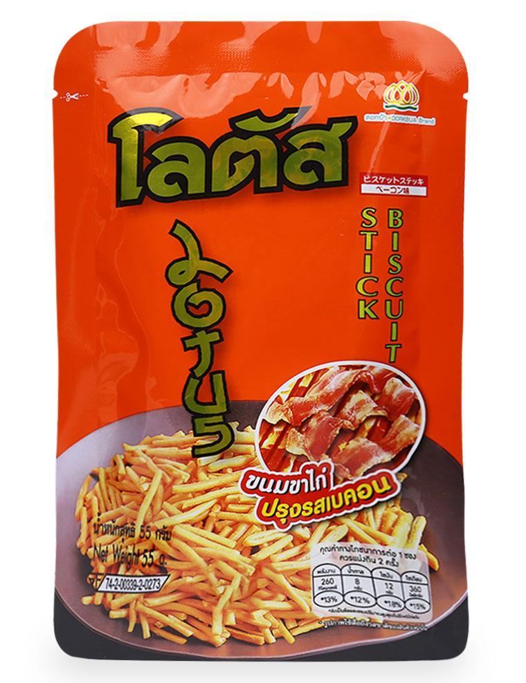 Bánh Que Thịt Heo Xông Khói Doakbua Gói 55G