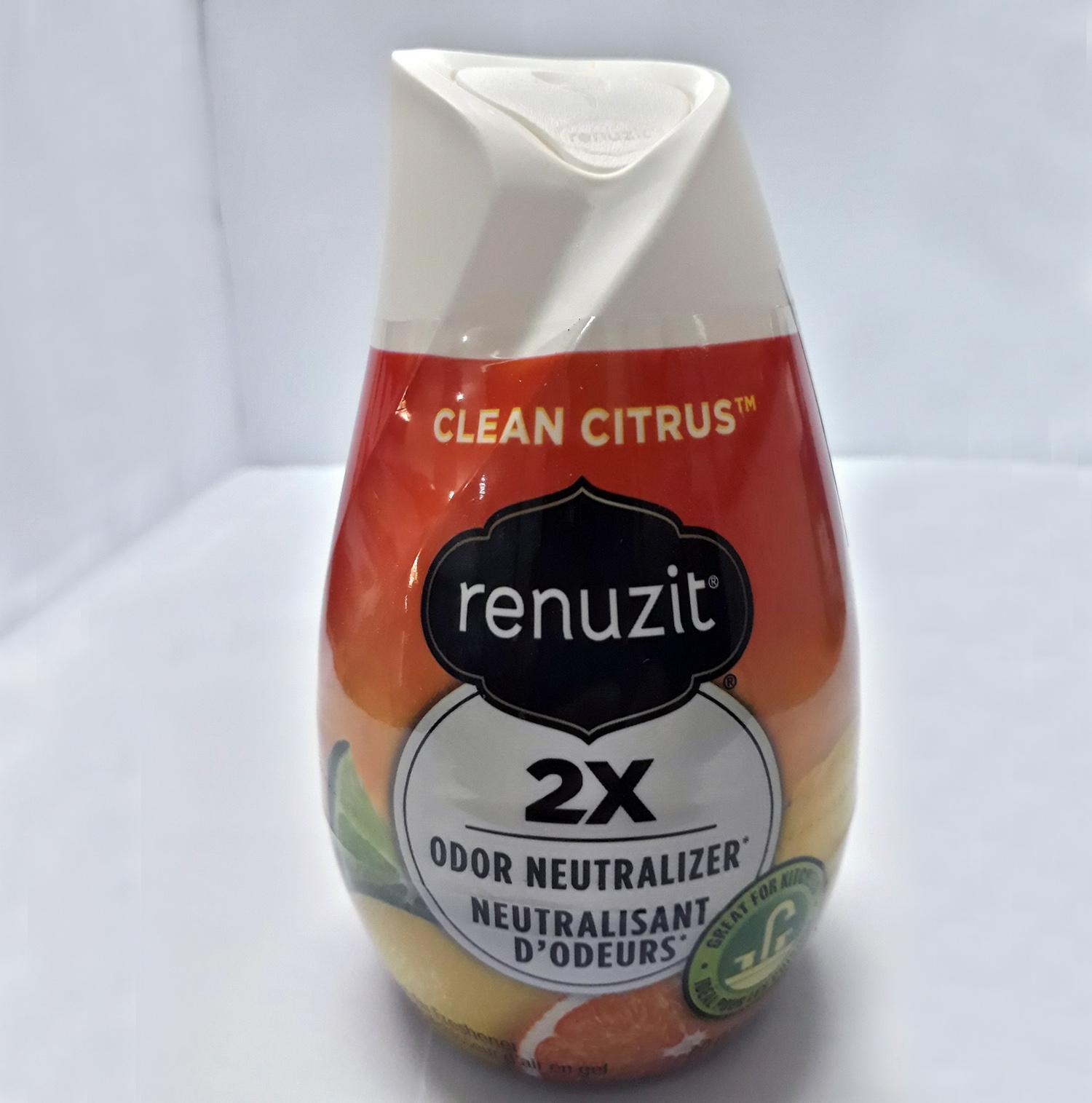 Sáp thơm phòng  Renuzit Clean Citrus 198g