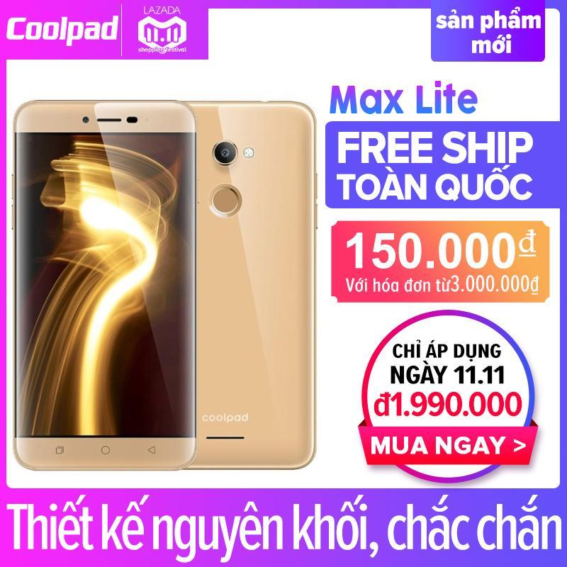 Coolpad Max Lite (R108) 16GB RAM 3GB (Vàng) - Hãng phân phối chính thức + Tặng Ốp lưng silicone