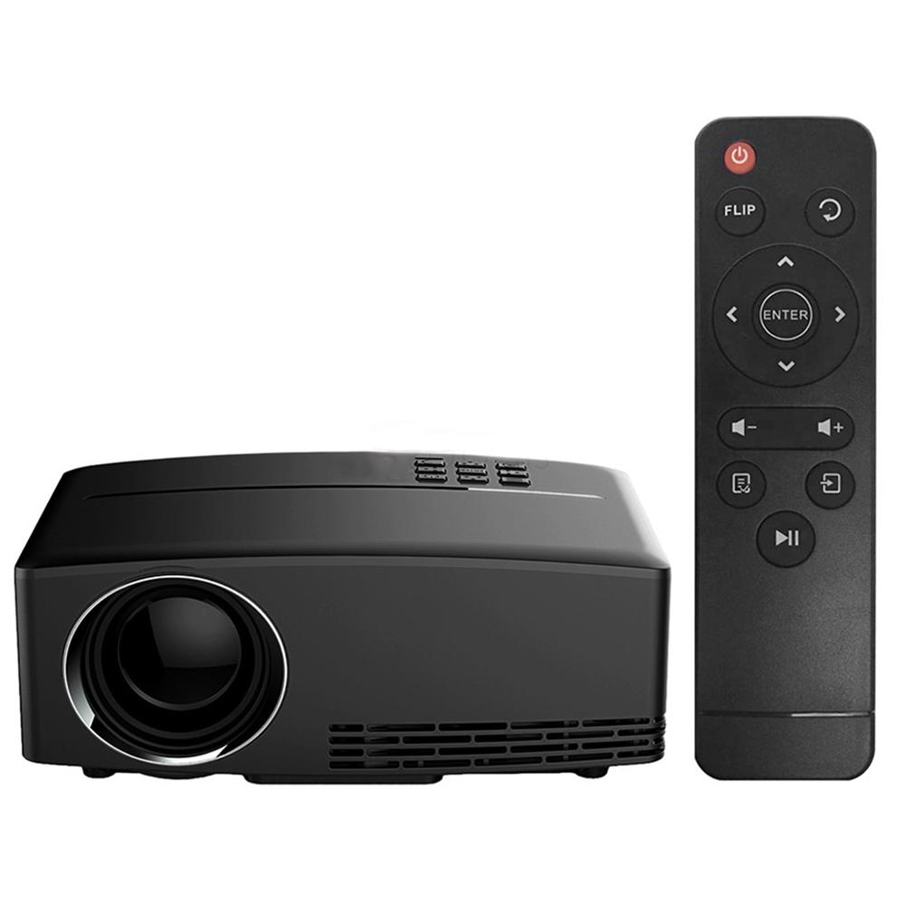 Projector 1080P LED HD Projector 1800 Lumens Video/Movie Projector for Home/Cinema/Theater/ Entertainment Free Shipping