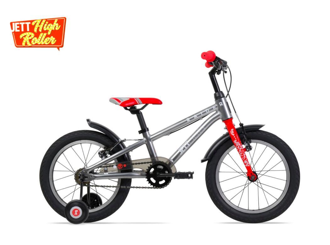 Xe đạp trẻ em Jett Cycles Raider (màu bạc)