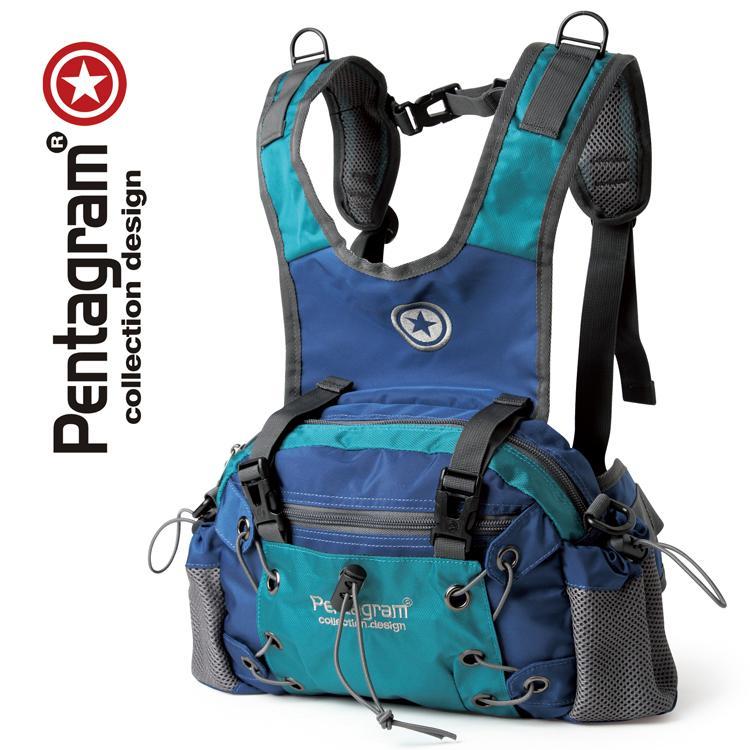 Pentagram Bintang Lima modis tiga kegunaan tas pinggang ransel Selempang tas bahu tunggal 975
