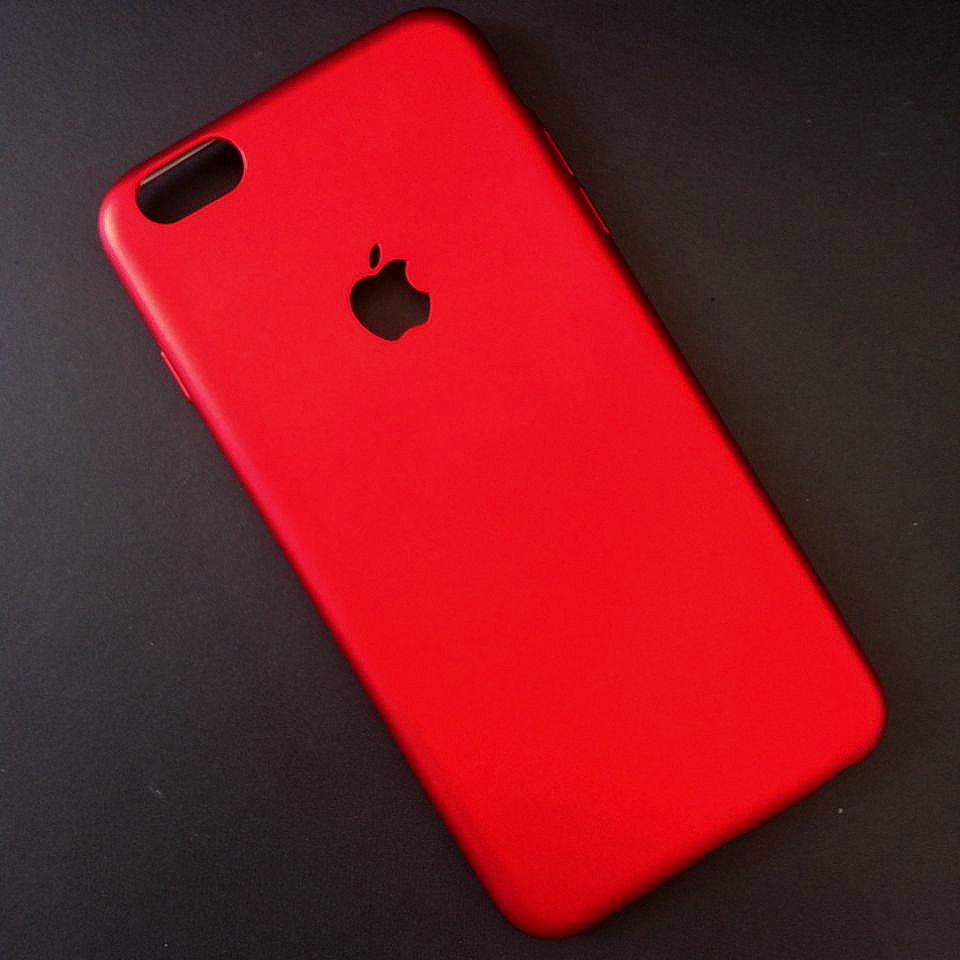 Ốp lưng dẻo cao cấp iPhone 6 Plus/6s Plus đỏ