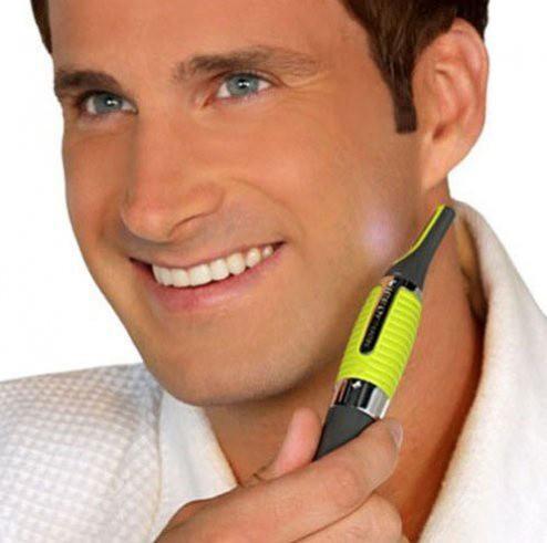 Dao cạo râu có đèn thông minh tiện dụng