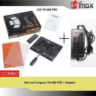 [Trả góp 0%]Đèn Led Yongnuo YN-600 PRO + Adapter thumbnail