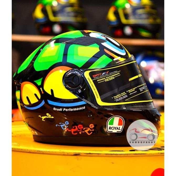 Mũ Bảo Hiểm fullface Royal M136 tem rùa - Mũ Bảo Hiểm Royal Fullface - Mũ Bảo Hiểm Mô tô - Mũ Bảo Hiểm Phượt