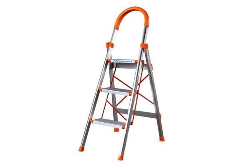 Thang nhôm ghế 3 bậc ADVINDEQ ADS-703 (bậc cao nhất 63cm )
