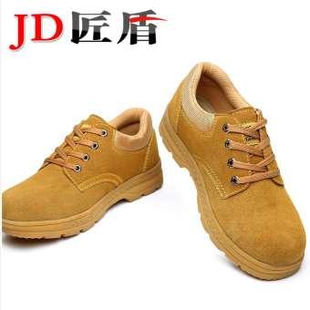 รองเท้าประกันแรงงานผู้ชายปลอดภัยทำงานสำหรับฤดูร้อนระบายอากาศแบบพกพาสะดวกดับกลิ่น Anti-Smashing Anti-piercing เหล็กหุ้มด้านหน้าเขตก่อสร้างหญิงรองเท้าเพื่อความปลอดภัย