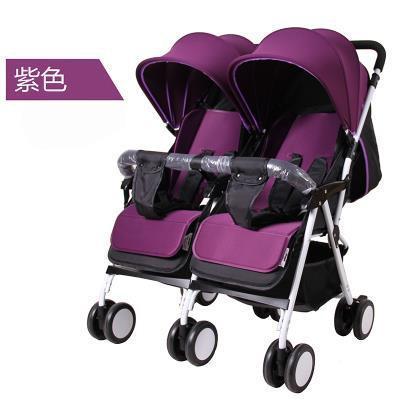 xe đẩy đôi 2 chiều cho bé từ 0-3 tuổi