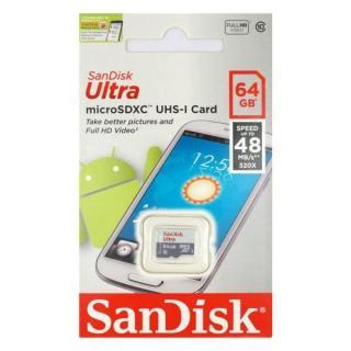 Thẻ nhớ Micro SD SanDisk 64GB Class 10 dùng cho Camera thumbnail