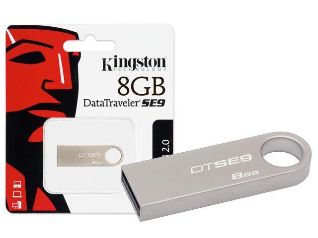 USB Kingston SE9 8Gb đủ dung lượng, bảo hành 1 đổi 1