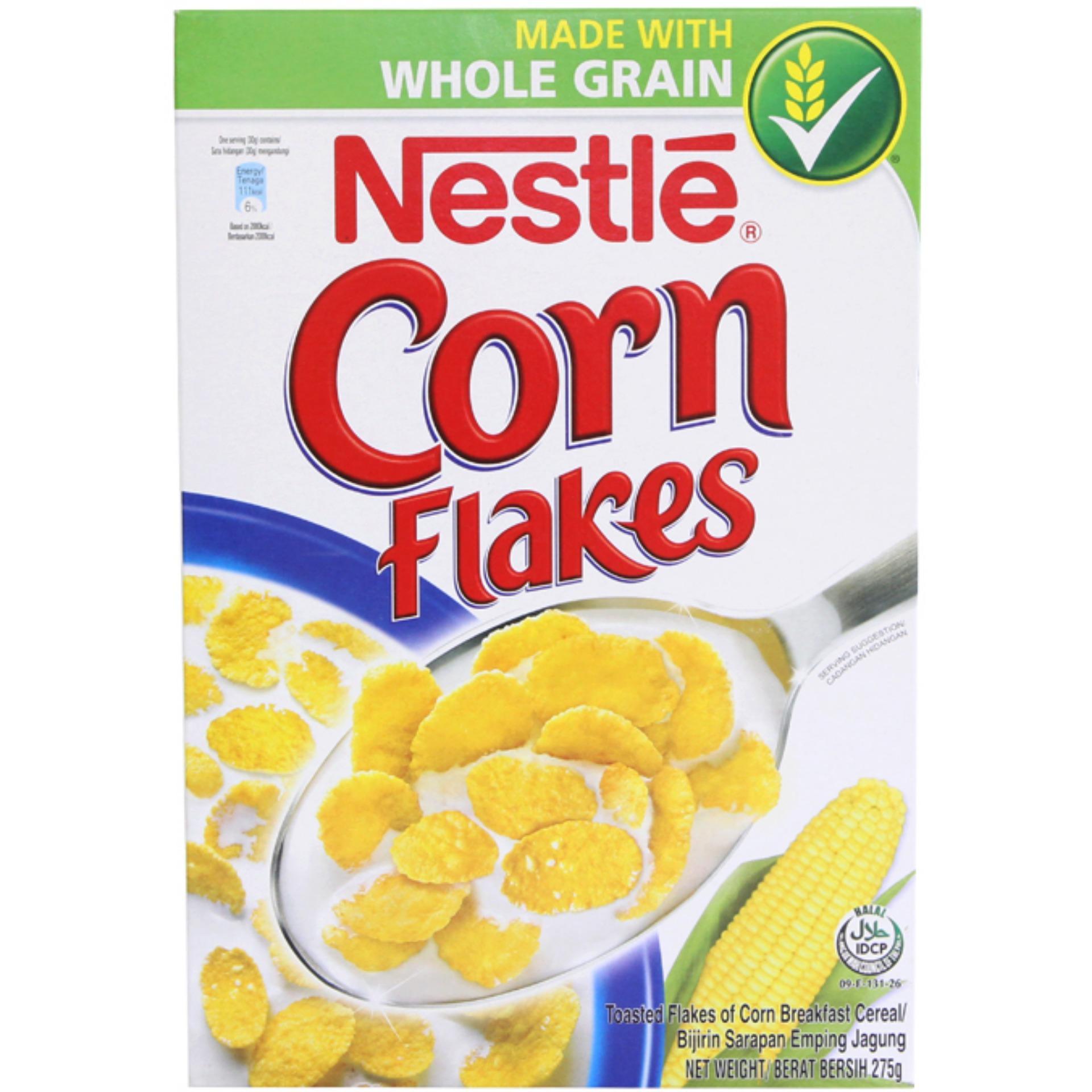Ngũ Cốc Ăn Sáng Nestle Corn Flakes Hộp 275G