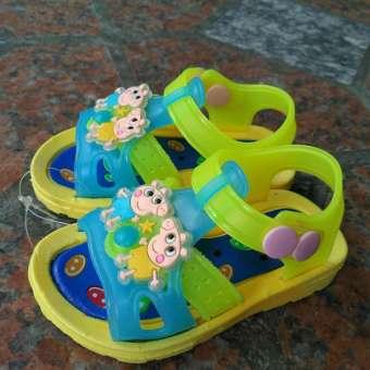รองเท้าเด็กวัยหัดเดินพื้นนุ่มสำหรับทารก 1-2 ปี