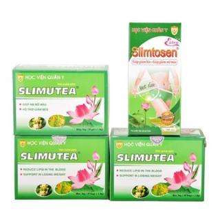 Liệu trình Slimtosen Extra và 3 trà sen Slimutea thumbnail