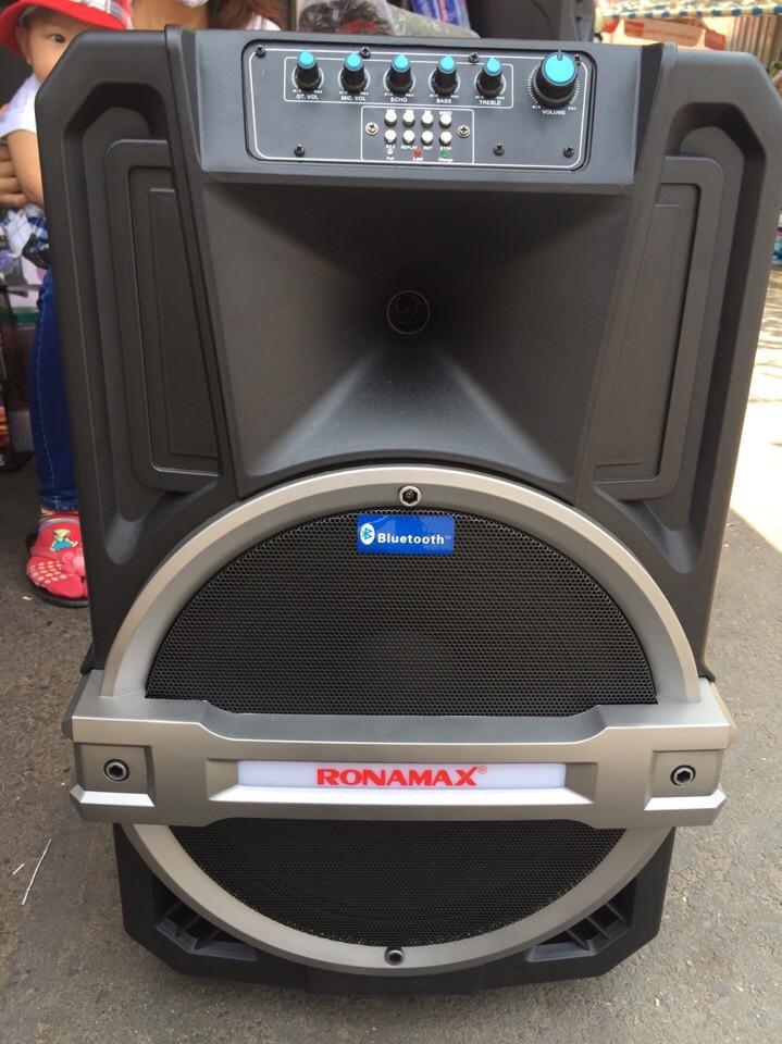 Loa vali kẹo kéo karaoke bluetooth temeisheng Ronamax T12 (3 tấc)
