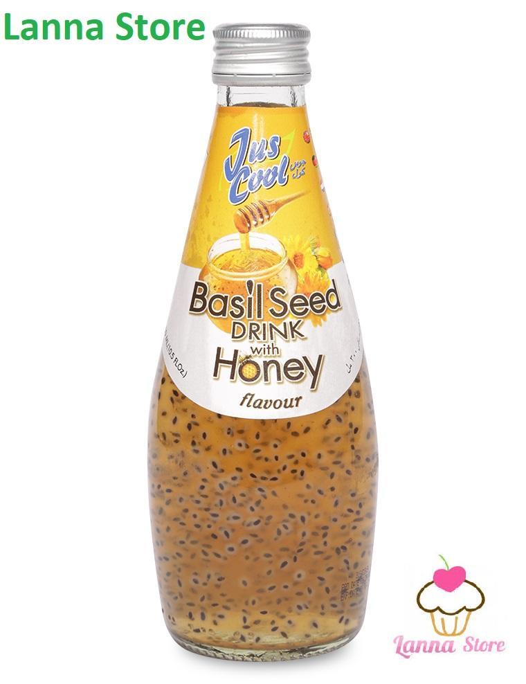 Nước hạt é vị Mật ong Juscool (Thái Lan) - 300ml