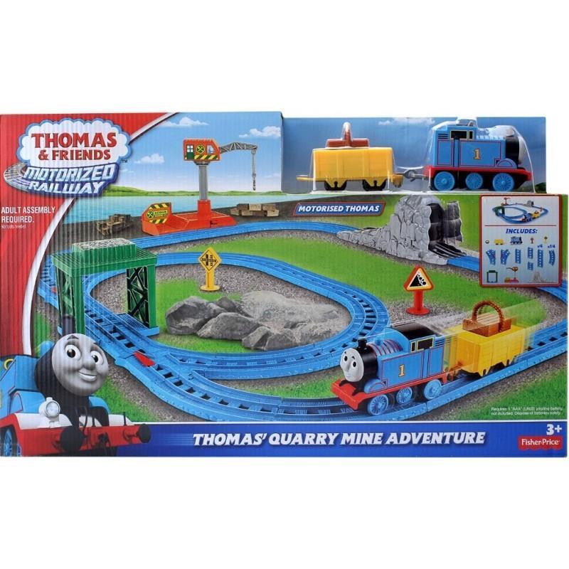 Thomas And Friends Bộ Đường Ray Vượt Công Trình Bgl98