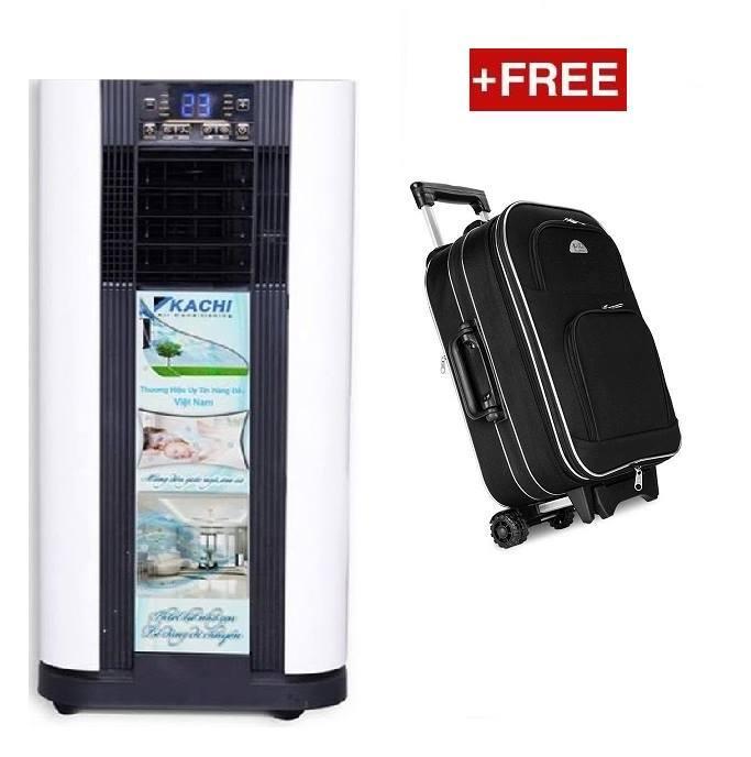 Máy lạnh di động 1HP 9000BTU Kachi MK20 (KC ML01) Combo Free Vali Biti Đen 1