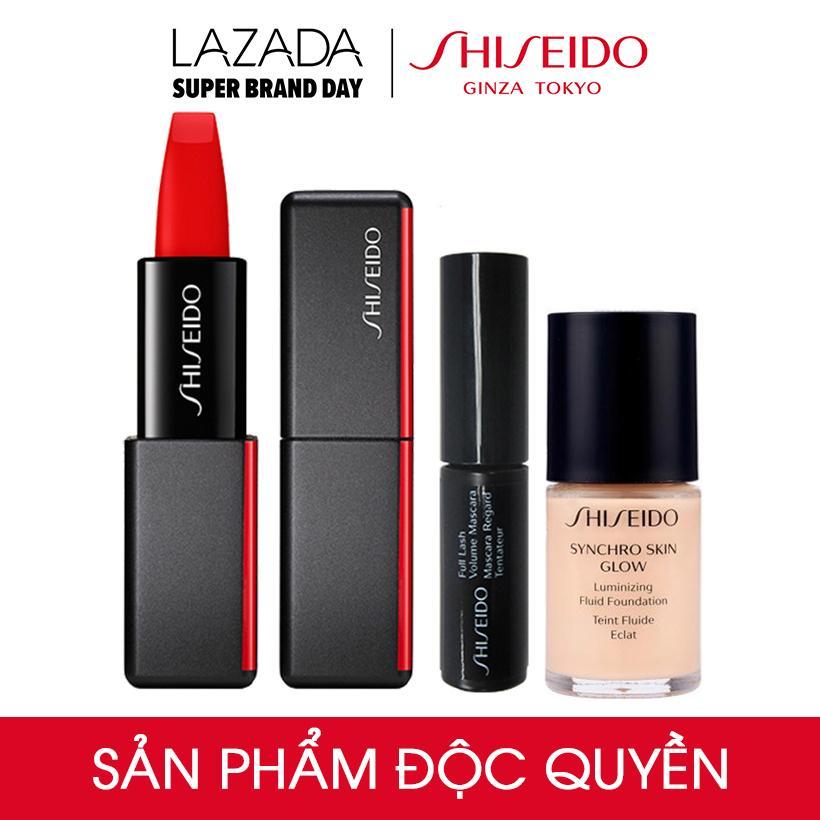 Bộ son lì Shiseido Modern Matte Lipstick 510 NightLife -...