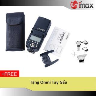 Đèn Flash Yongnuo YN565EX II for Canon + Omni tay gấu thumbnail