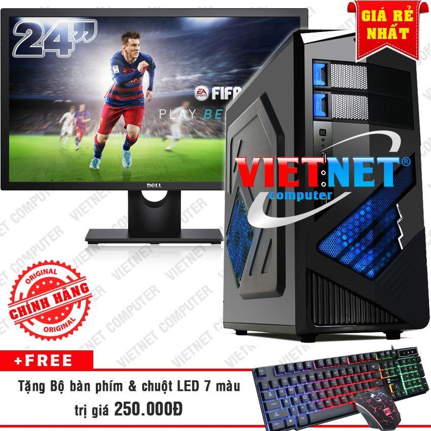 Bộ máy chơi game i5 2400 RAM 8GB 1TB + LCD Dell 24 inch VietNet