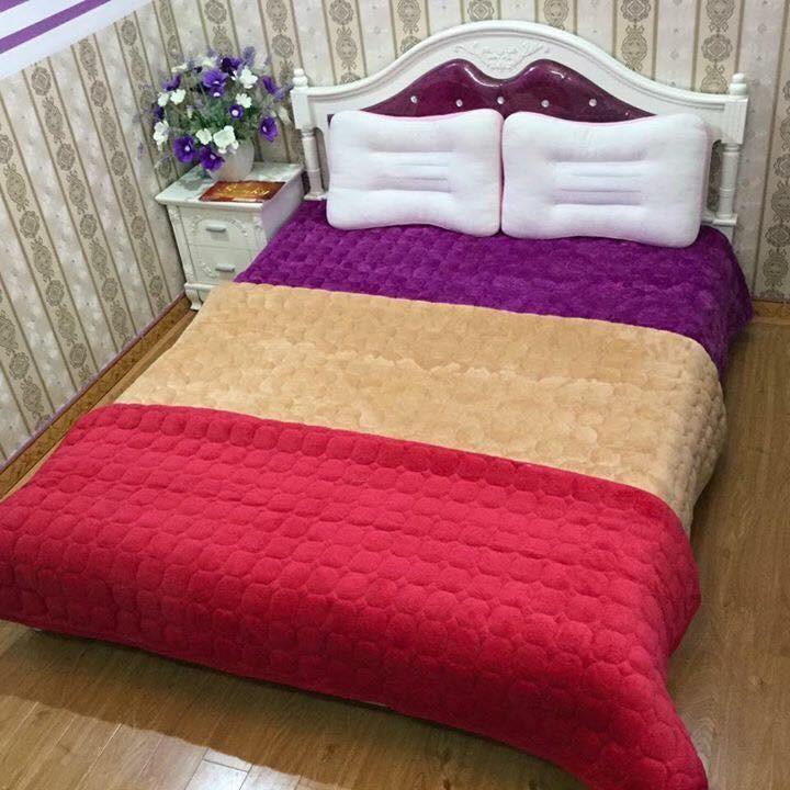 Thảm nhung trải sàn trải giường 1.6x2m