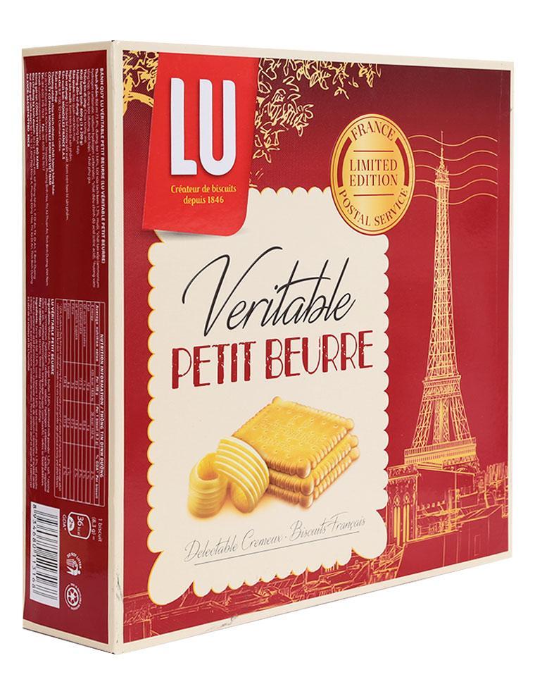 Bánh Quy LU Véritable Petit Beurre - Hộp 600 G