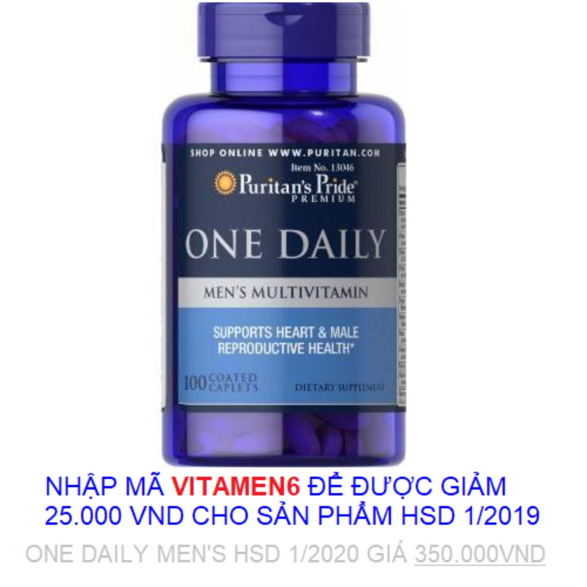 Tăng cường sức khỏe cho nam giới Vitamin và khoáng...