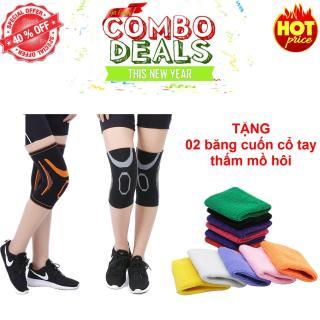Bộ 02 miếng bảo vệ đầu gối Knee Support - Chất liệu cao cấp thumbnail