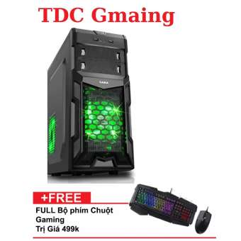máy tính chuyên game intel core i7 ram 16gb ssd 120gb vga rời gt 730 2gb ddr5 + tặng bàn phím chuột chuyên game, cmg 716