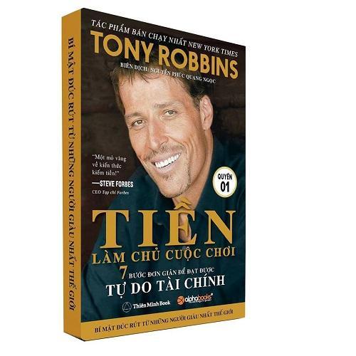 (Bộ 2 QUYỂN )Tiền làm chủ cuộc chơi 7 bước đơn giản để đạt được tự do tài chính - TONY ROBBINS
