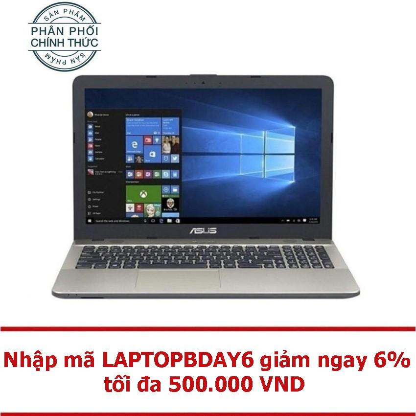 """Laptop Asus X541UA-XX272 i3-6100U Ram 4G DVDRW 15.6"""" HD (Đen) - Hãng phân phối chính thức"""