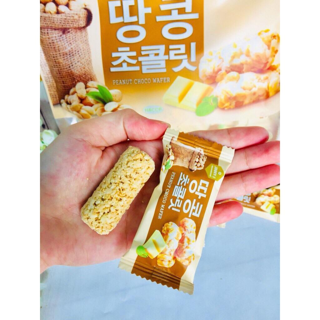Bánh yến mạch đậu phộng sữa Hàn Quốc