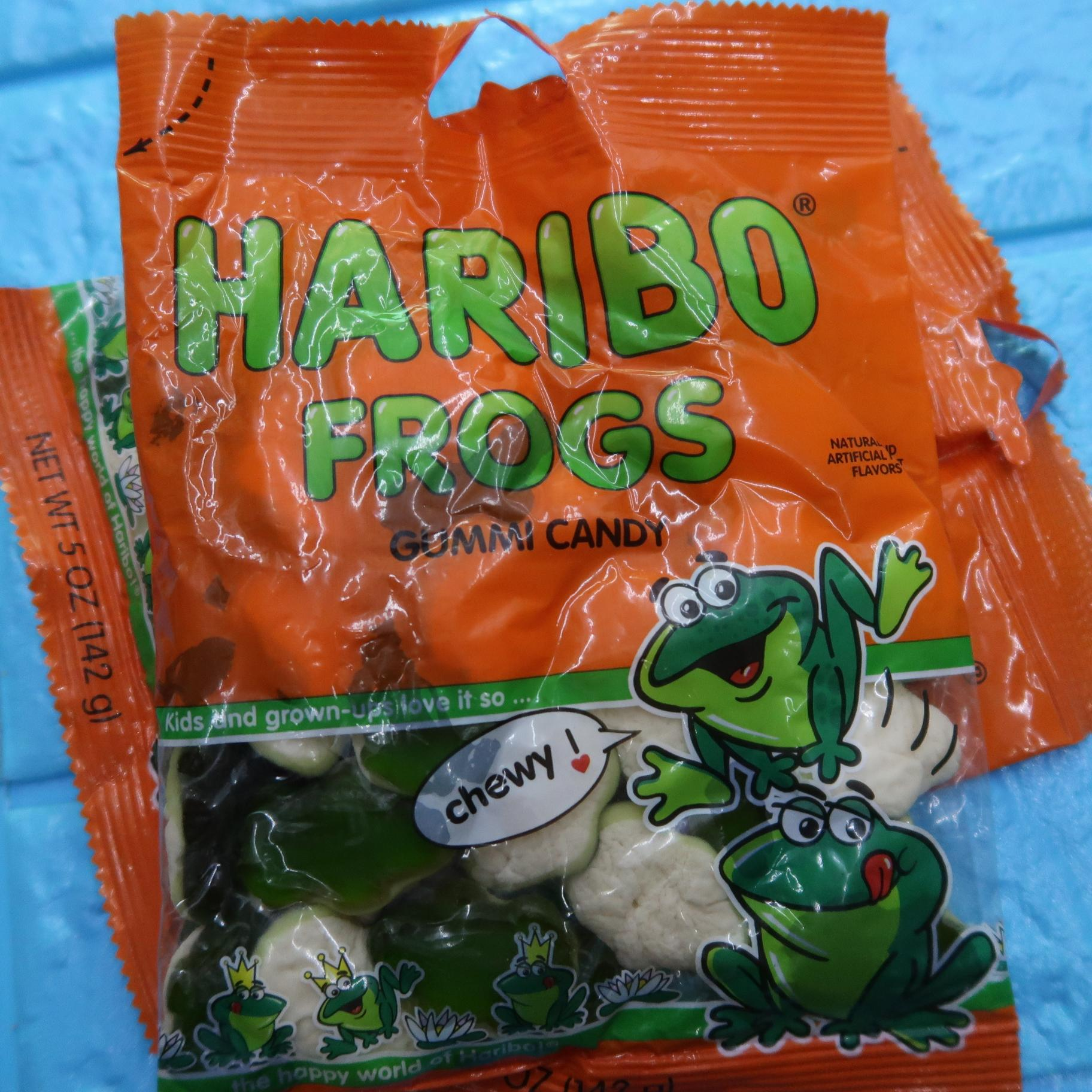 Kẹo dẻo Haribo Frogs