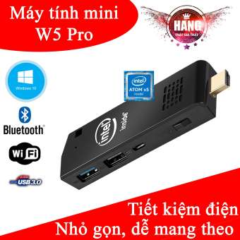 Máy tính mini Intel Z8350 - W5 Pro Ram 2G Rom 32Gb hỗ trợ Window 10