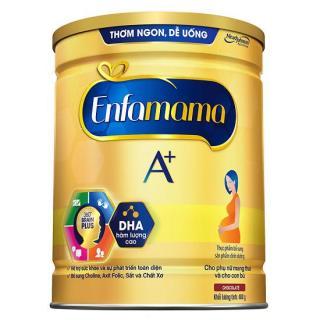 Sữa bột Enfamama A+ dành cho bà mẹ mang thai và cho con bú - Hộp thiếc 900g - Vị Chocolate thumbnail