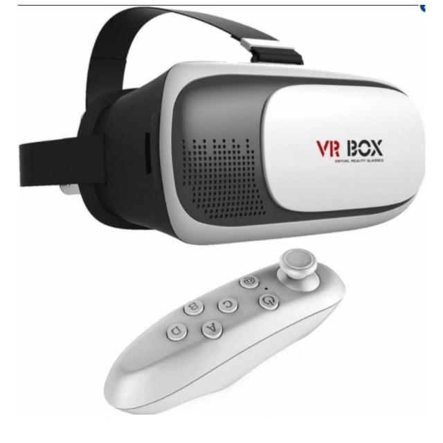 Combo Kính 3D VR-BOX + Tay Chơi Game Bluetooth