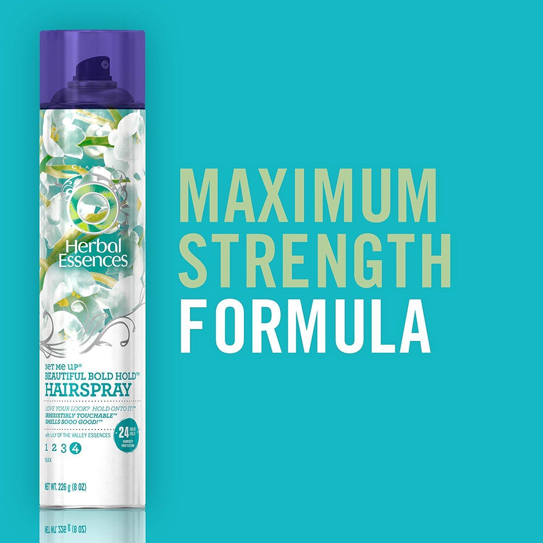 Keo xịt tạo hình tóc Herbal Essences Set Me Up Beautiful Bold Hold Hairspray 226g (Mỹ)