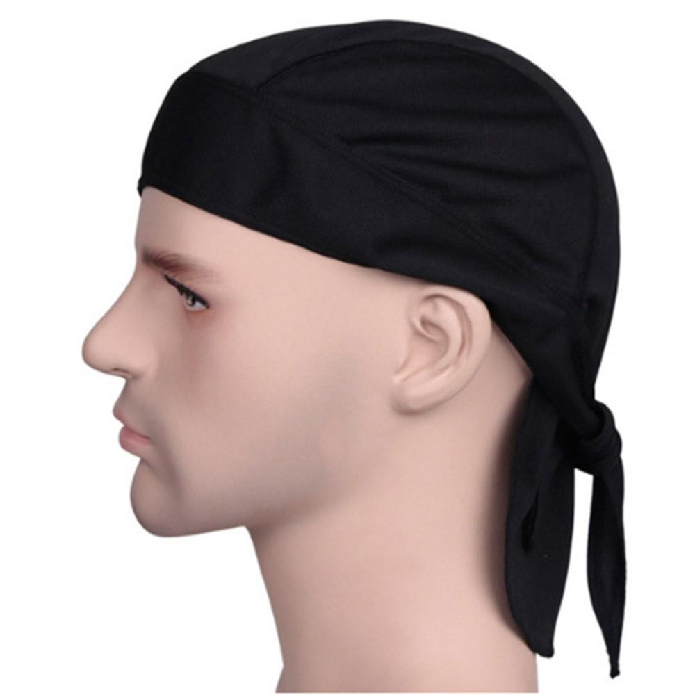◇FREE SHIPPING◇Outdoor Quick Dry Pure Cycling Cap Head Scarf Headscarf Headband Men Hat Hood