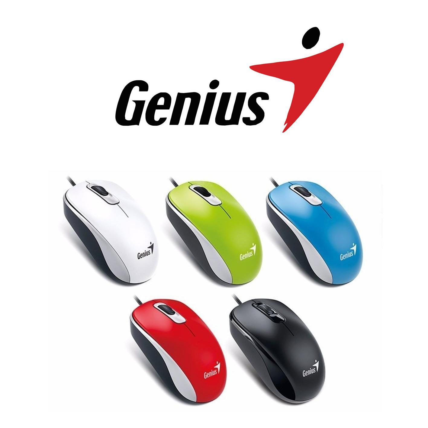 Chuột Có Dây Genius DX-110 USB Đen TẶNG LÓT CHUỘT