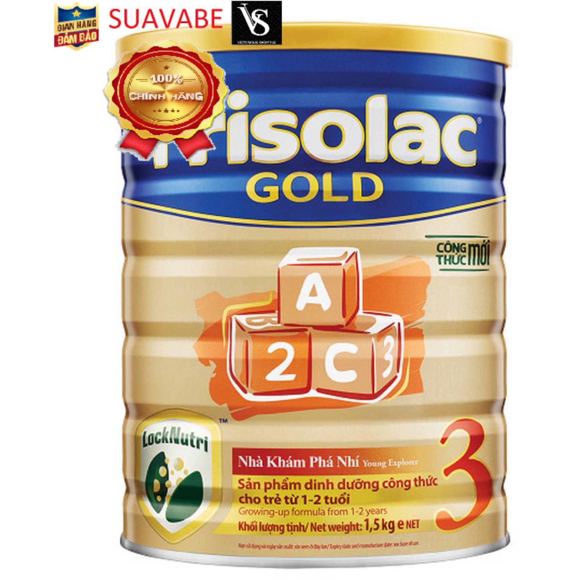 Sữa bột Friso Gold 3 1500kg 2016