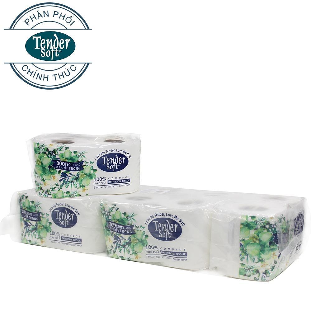 Giấy vệ sinh Tender Soft 2 lớp x 10 cuộn