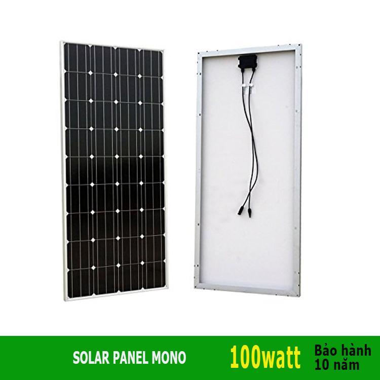 Tấm năng lượng mặt trời Mono 100W