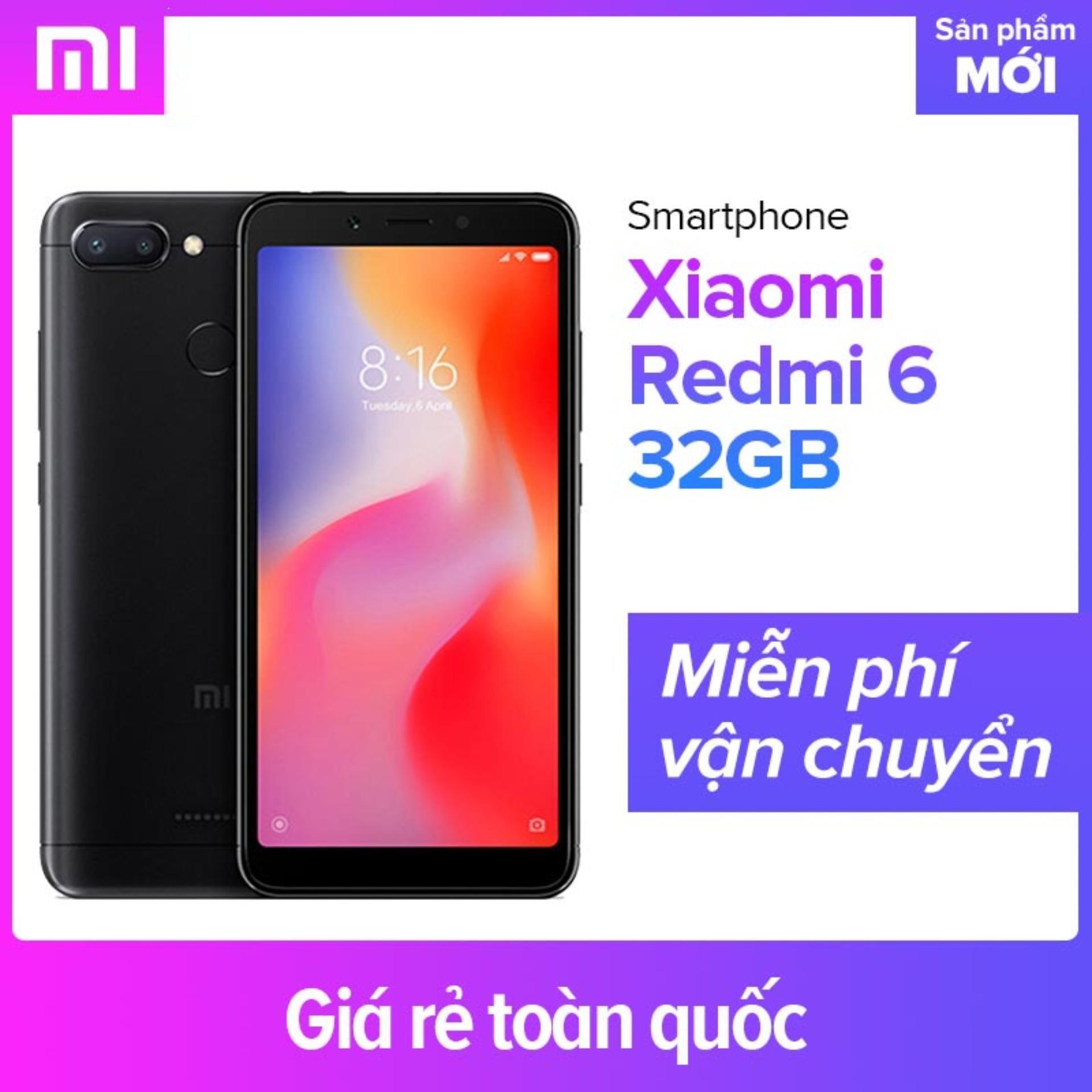 Xiaomi Redmi 6 32GB Ram 3GB - Hãng Phân Phối Chính Thức