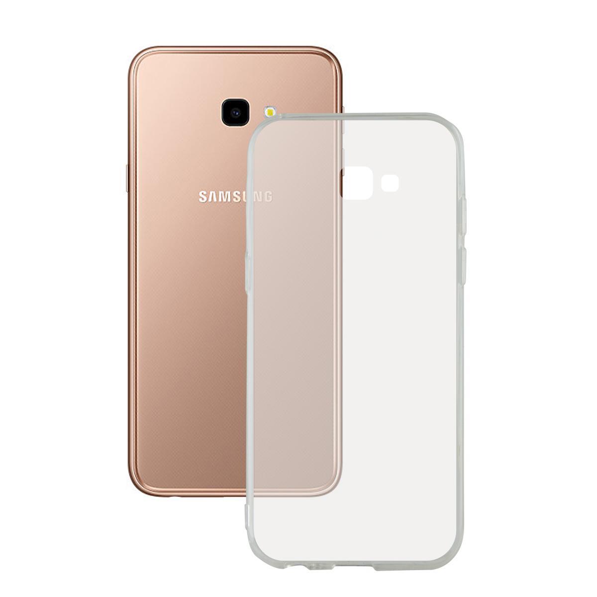 Ốp Silicon cho Samsung J4 Plus 2018 / J4+ Trong suốt (Loại A+ chống ố vàng)