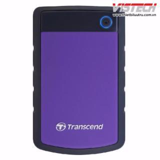 Ổ cứng di động Transcend 2TB StoreJet 25H3P (Tím) thumbnail