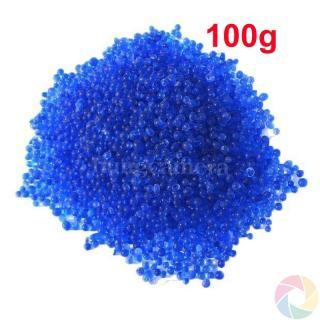 Gói 100g - Hạt hút ẩm, chống ẩm cho máy ảnh, chỉ thị màu xanh thumbnail