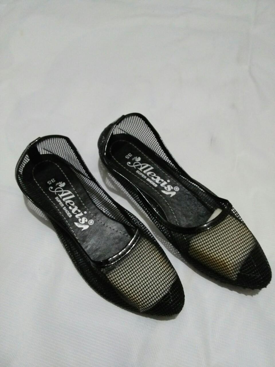 Giày Búp Bê Lưới Nữ